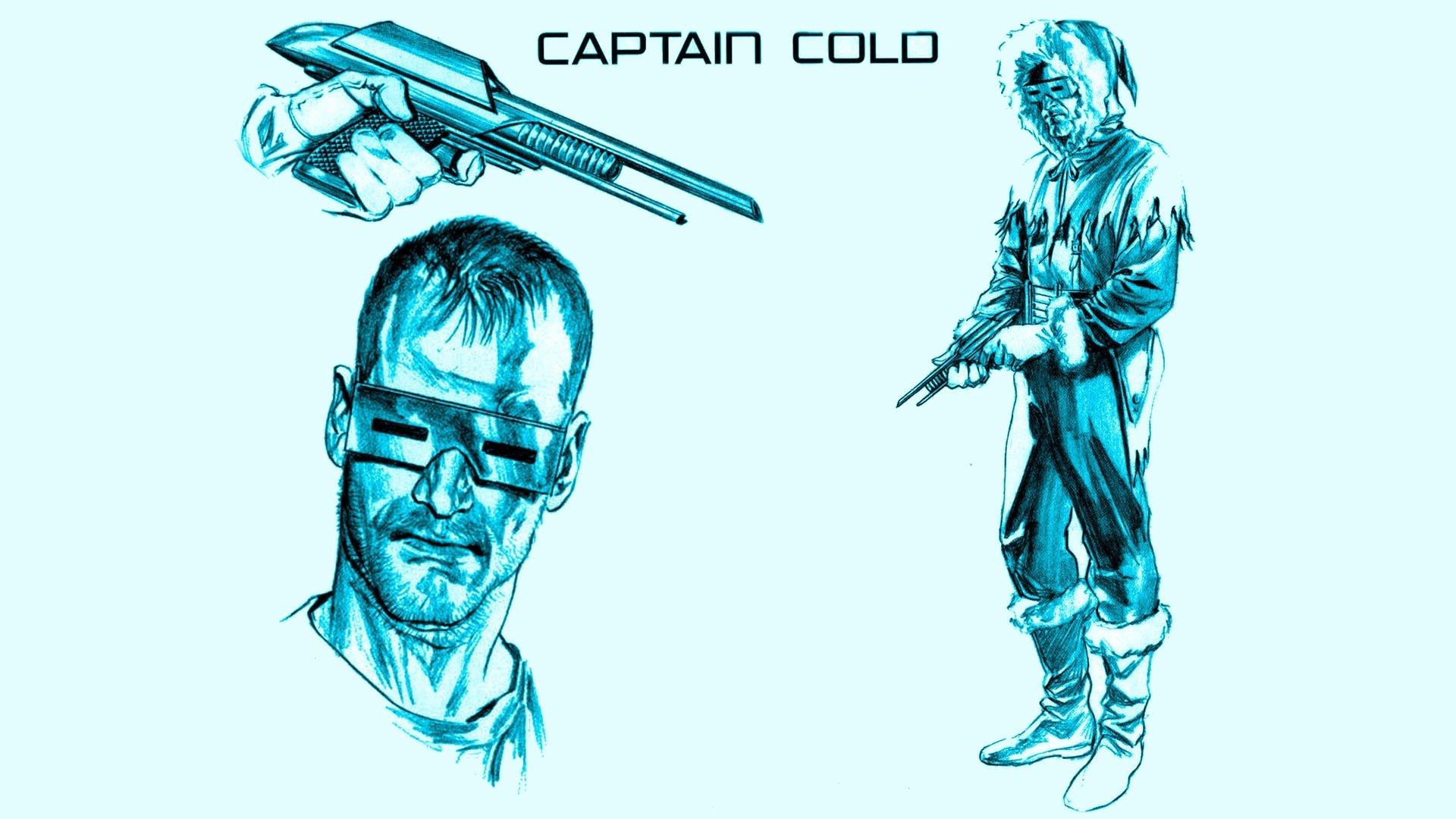 Comics - Captain Cold  Wallpaper