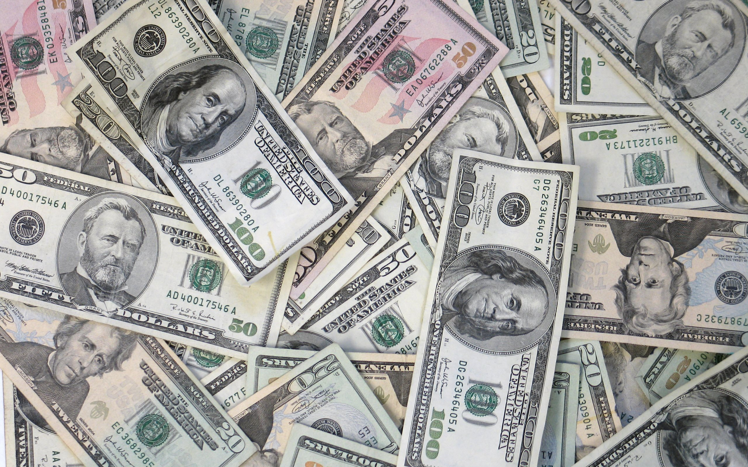 Dollars Full HD Wallpaper And Background 2560x1600 ID