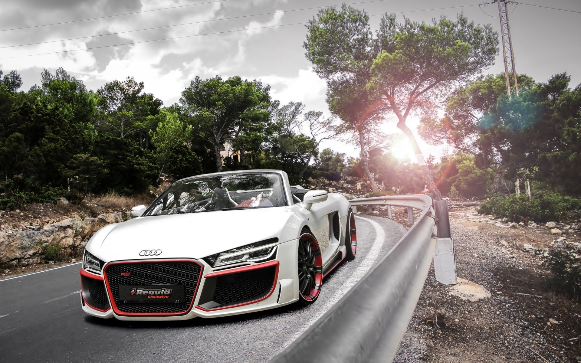 Vehicles - Audi R8  Vehicle Audi Audi R8 Spyder Wallpaper