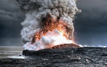 Earth - Volcano Wallpapers and Backgrounds ID : 468300