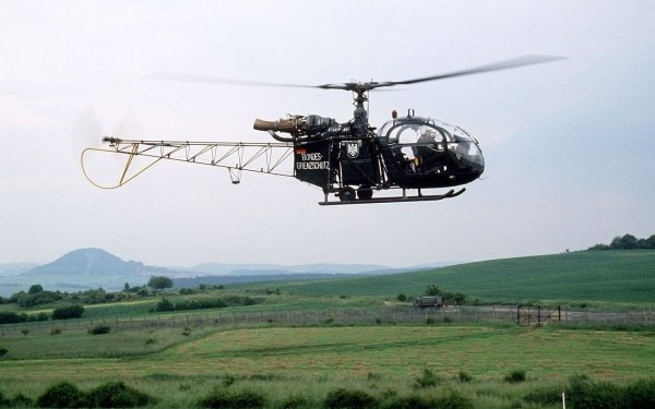 Vehicles Aérospatiale Alouette II Aircraft Helicopters Helicopter HD Wallpaper   Background Image