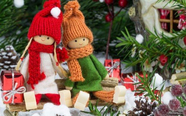 Man Made Doll Santa HD Wallpaper | Background Image