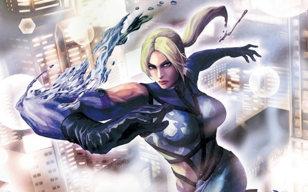 Video Game Street Fighter Nina Williams Tekken Blonde Glove HD Wallpaper   Background Image
