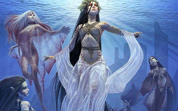 Fantasy Women Warlord: Saga of the Storm HD Wallpaper   Background Image