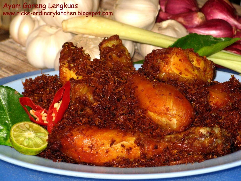 Resep Ayam Goreng Pedas