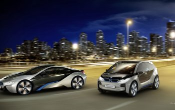 Vehicles - BMW I3 And I8 Wallpapers and Backgrounds ID : 471064