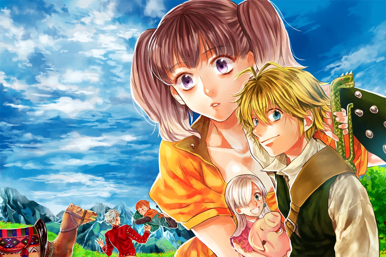 Anime The Seven Deadly Sins Nanatsu No Taizai Bakgrund
