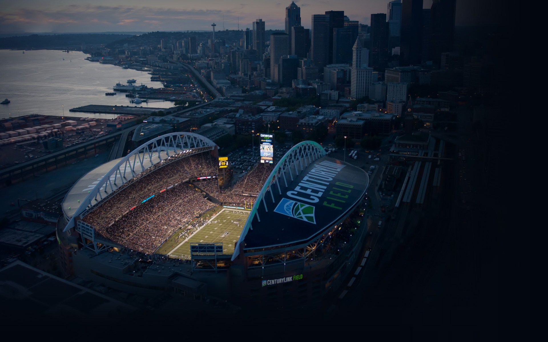 Seattle Seahawks Wallpaper 1920x1080: 1 Seattle Seahawks Stadium HD Wallpapers