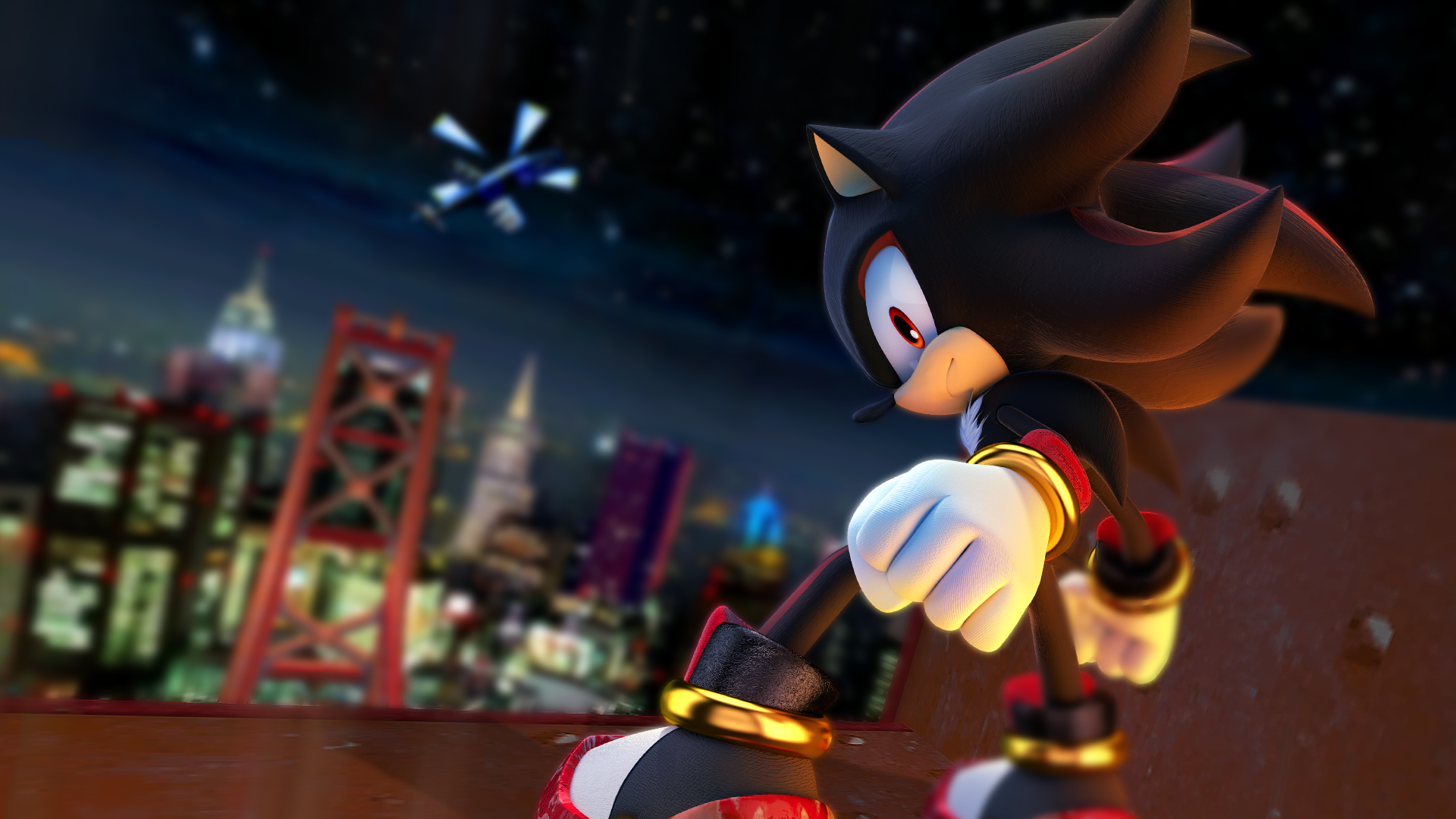 14 Shadow The Hedgehog HD Wallpapers | Background Images ...