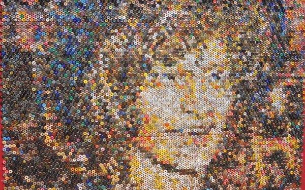 Misc Beer Bottle Caps Beer Bottle Cap Mosaic HD Wallpaper | Background Image