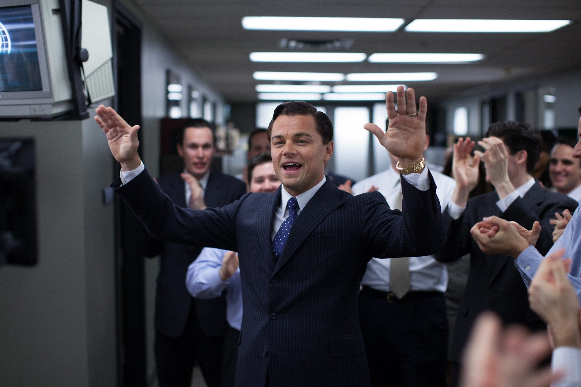 92 The Wolf Of Wall Street Hd Wallpapers Background Images