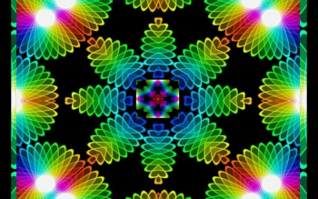 Abstract - Fractal Mandala Wallpapers and Backgrounds ID : 475712