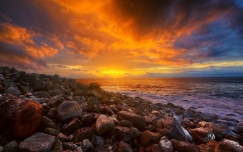 Earth - Sunset Wallpapers and Backgrounds ID : 475973