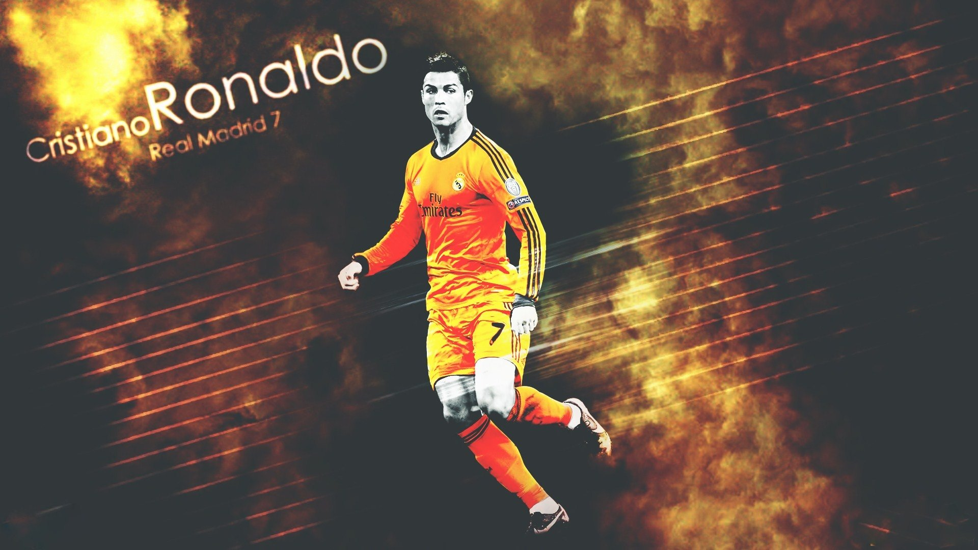 Sports - Cristiano Ronaldo  Real Madrid C.F. Wallpaper