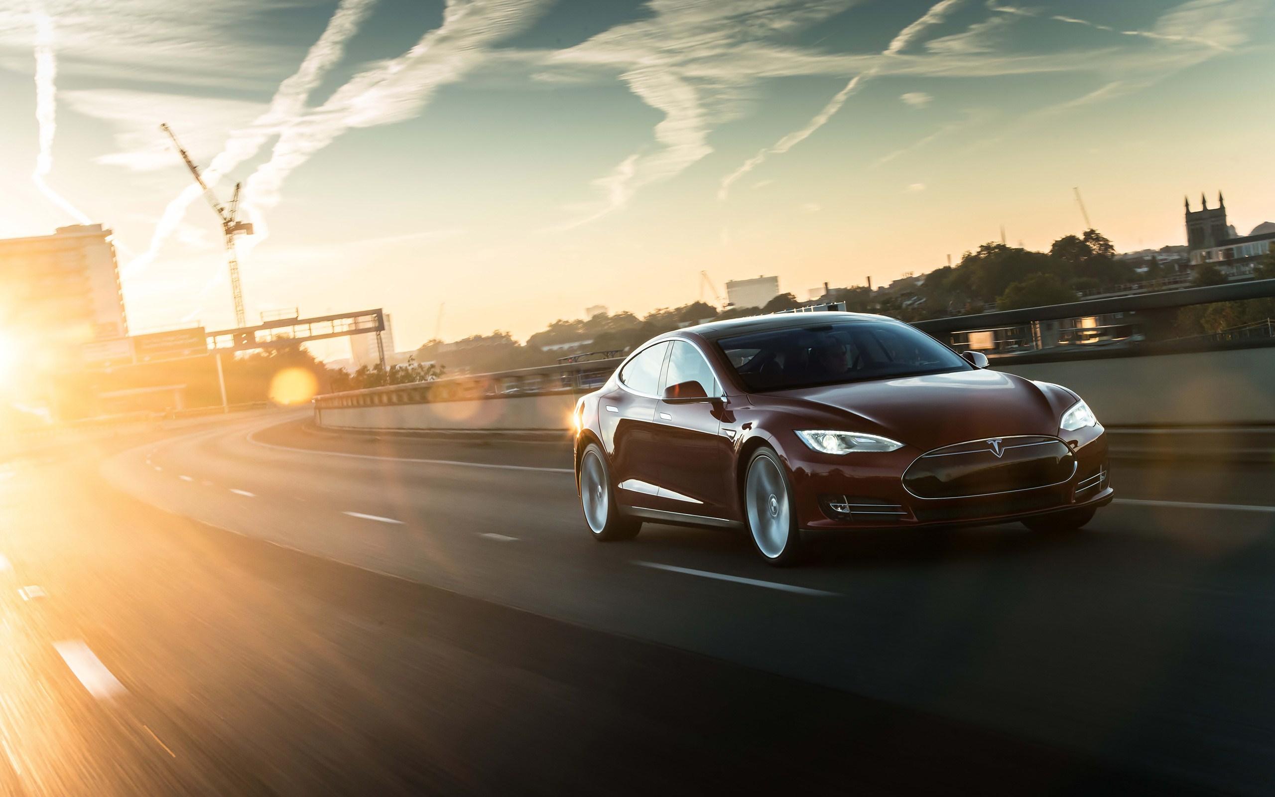 Tesla Model Y Hd: Hintergründe - Wallpaper Abyss