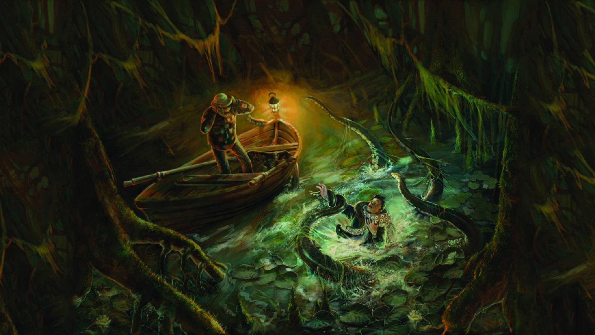 Hp Lovecraft Art Wallpapers: Call Of Cthulhu HD Wallpaper
