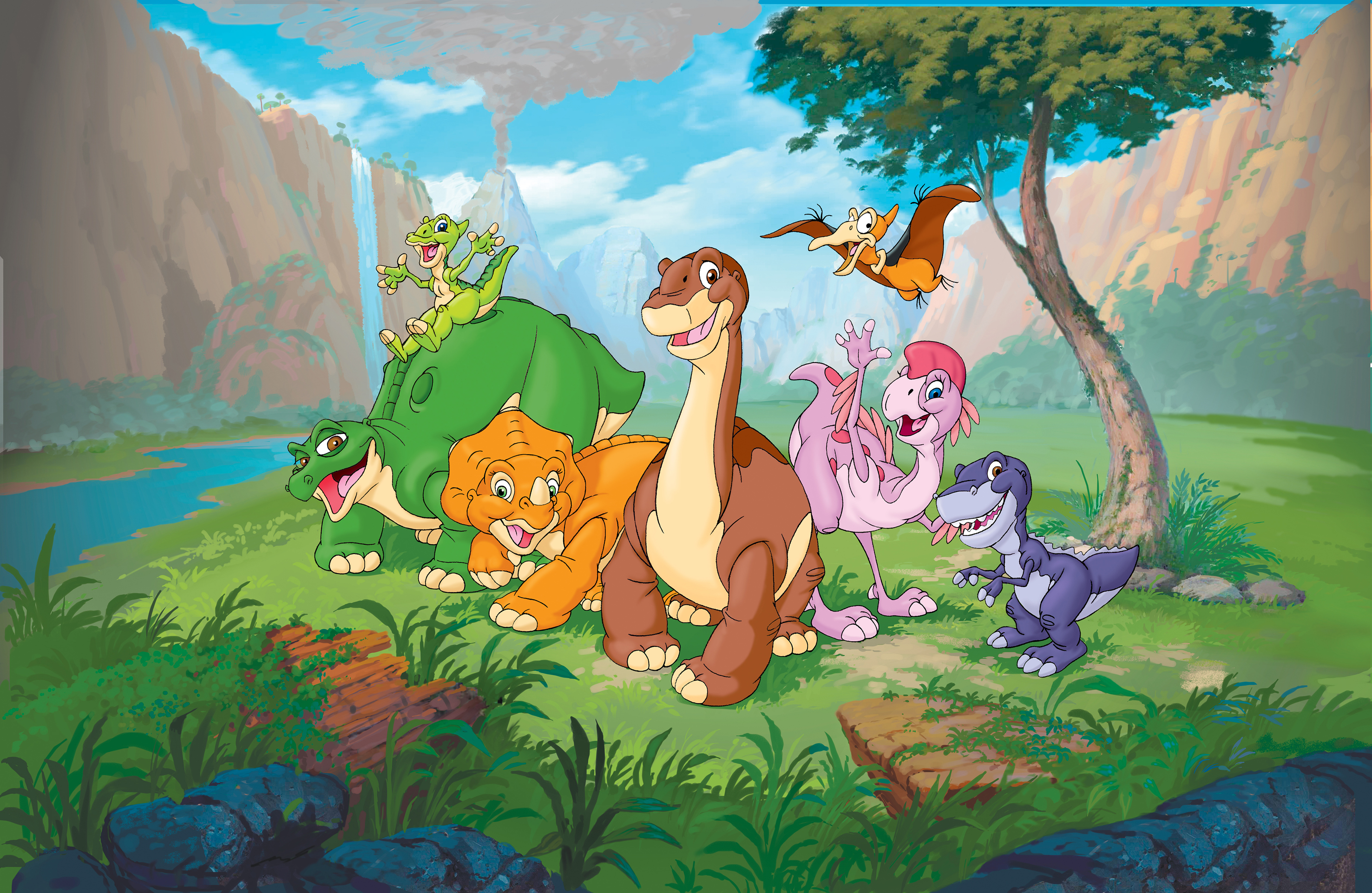 12 The Land Before Time Hd Wallpapers Background Images