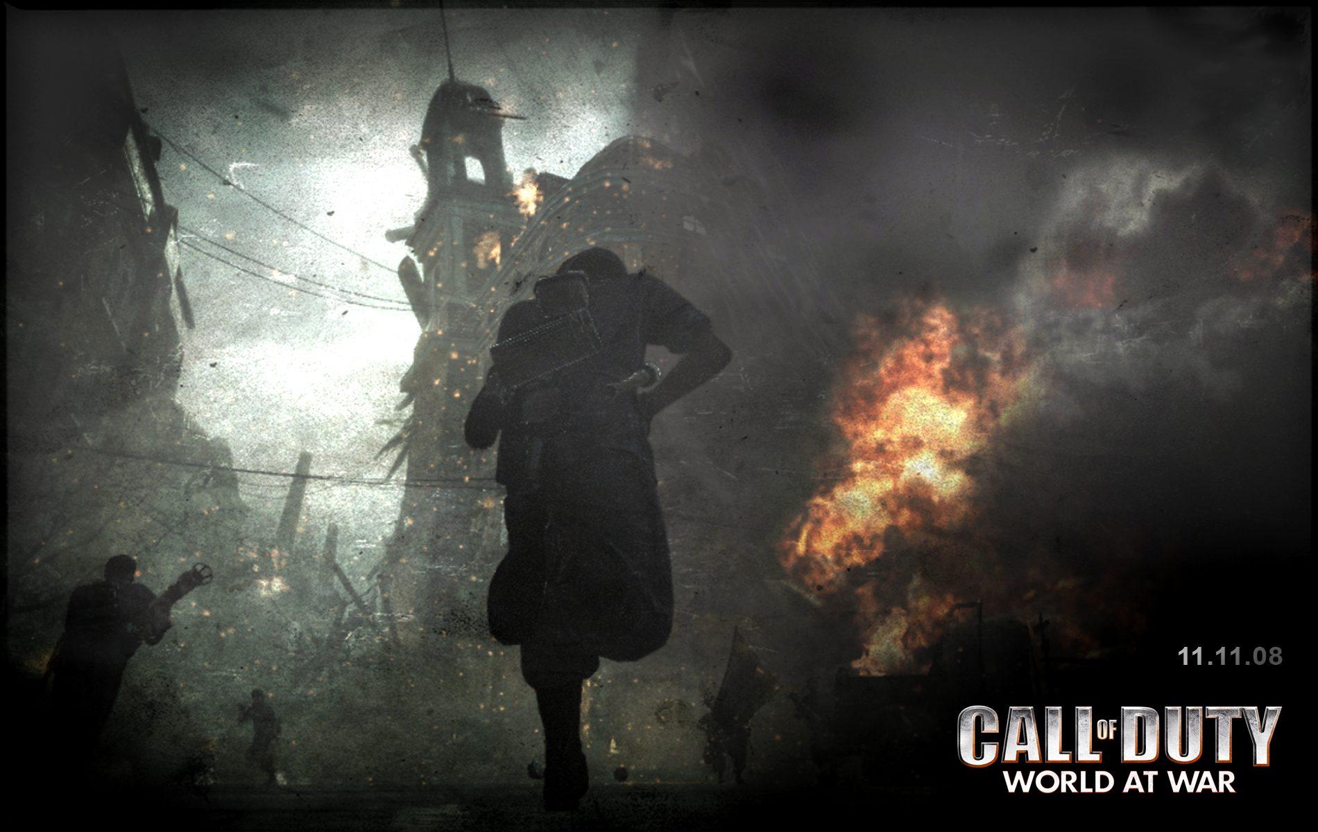 Call of Duty Black Ops Game HD Desktop Wallpaper for K