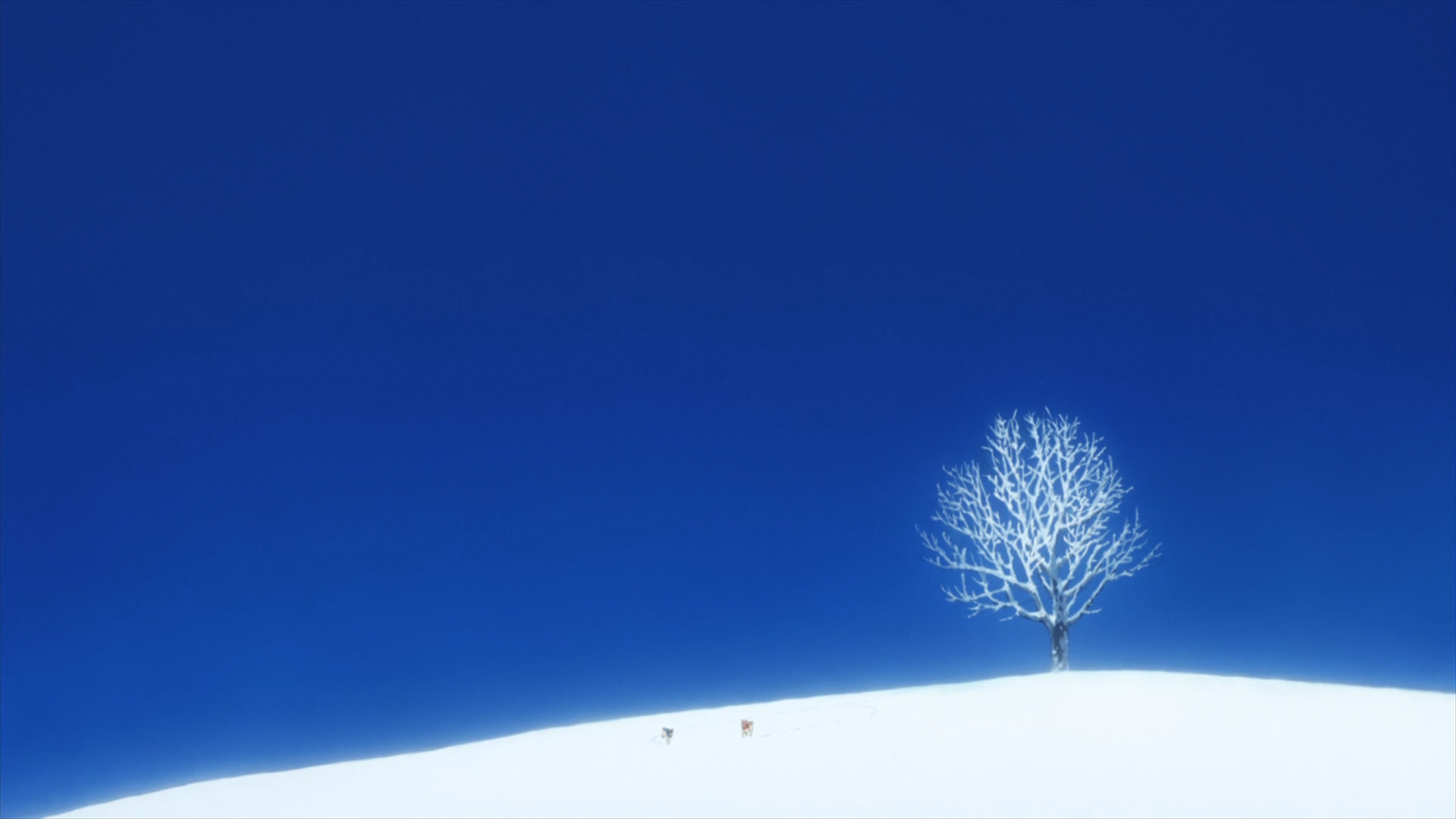 Nice Mountain Landscape - The Wolf Children Ame and Yuki ...