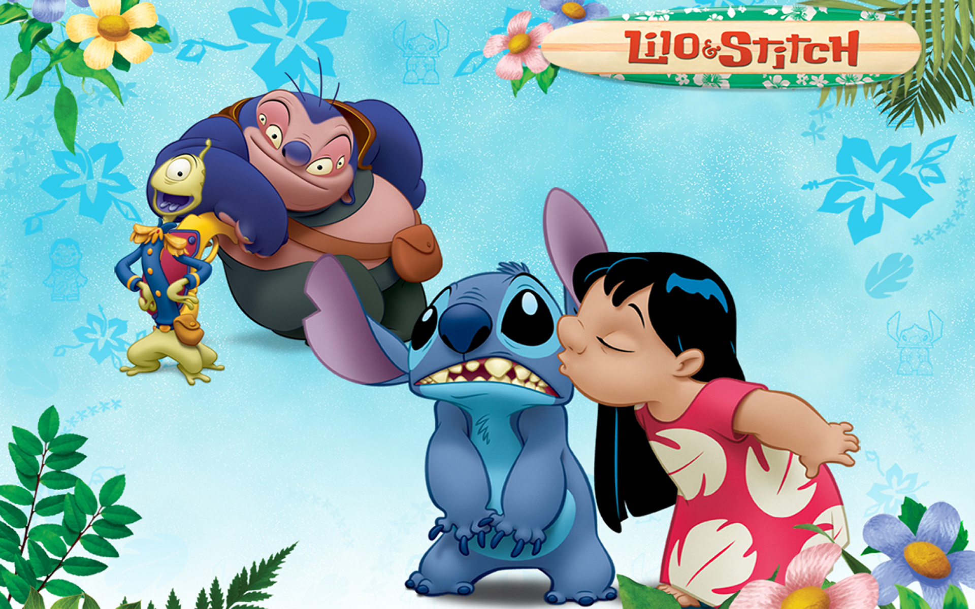 Lilo & Stitch HD Wallpaper | Background Image | 1920x1200 ...