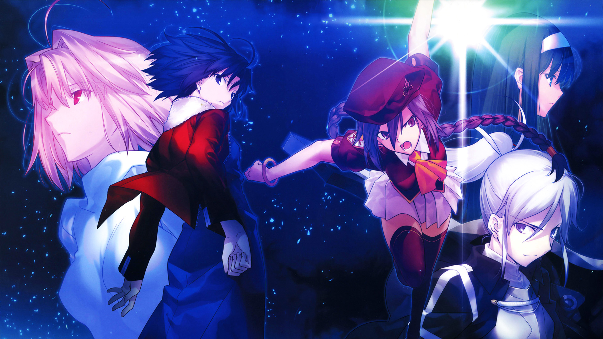 Melty Blood Actress Again Current Code Full HD Wallpaper ...