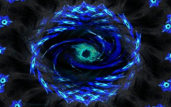Spiral Hexa Eye Computer Wallpapers
