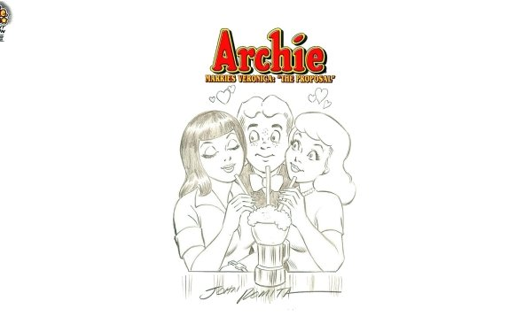 Comics Archie Archie Andrews Veronica Lodge Betty Cooper Archie Comics HD Wallpaper | Background Image