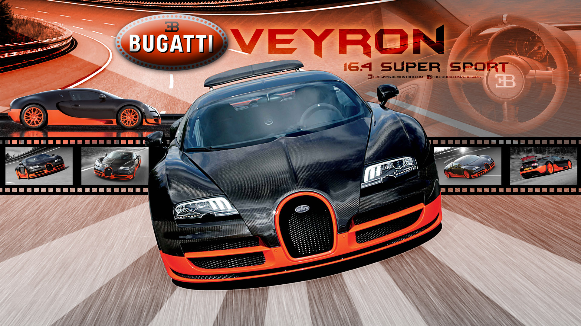 Bugatti Veyron Super Sport Wallpaper 1920x1080: Bugatti_Veyron_Super_Sport HD Wallpaper