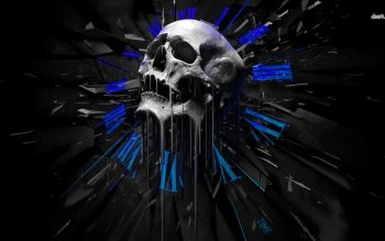 Dark - Skull Wallpapers and Backgrounds ID : 481154
