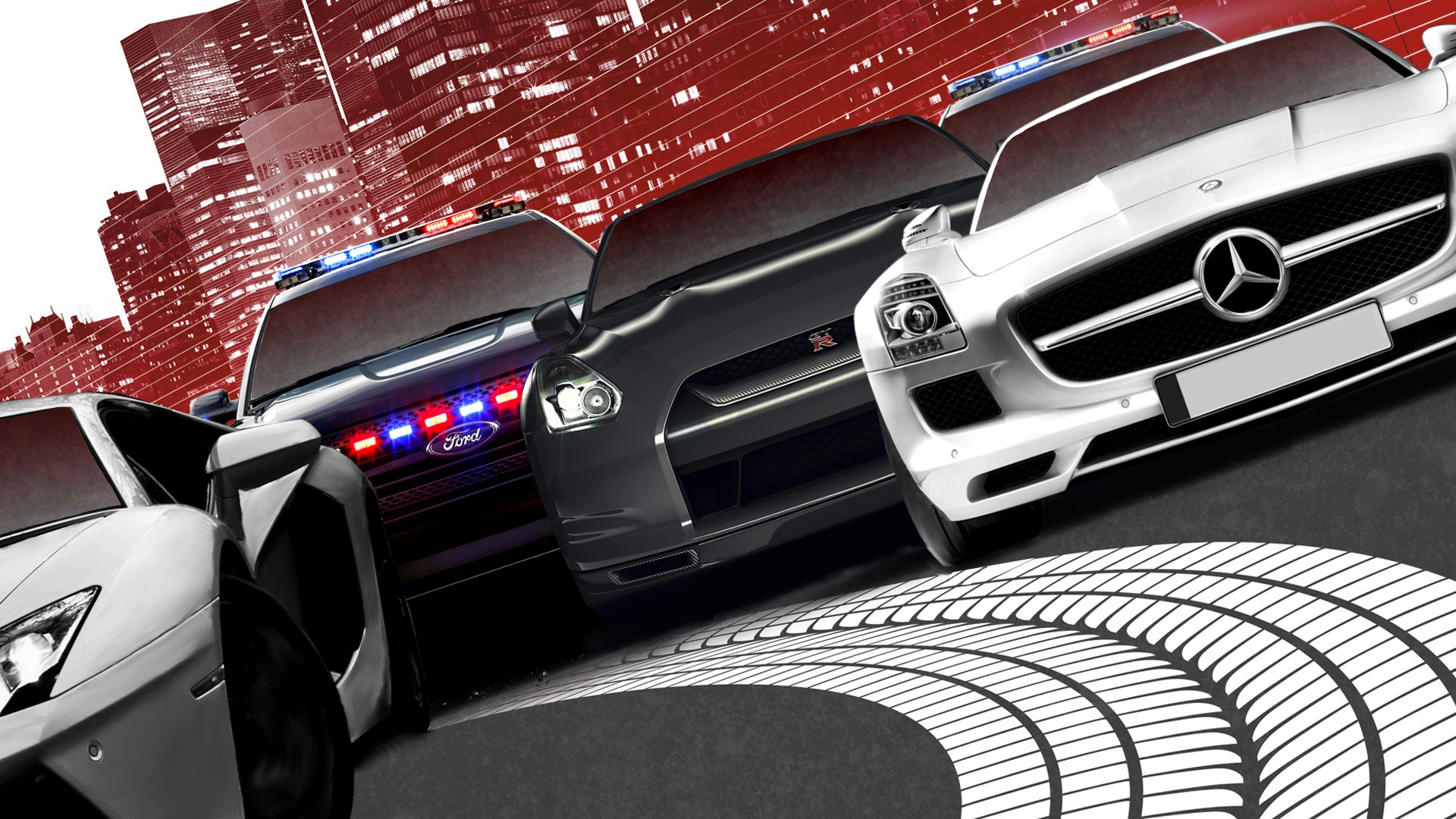 Need For Speed: Most Wanted Tapeta HD