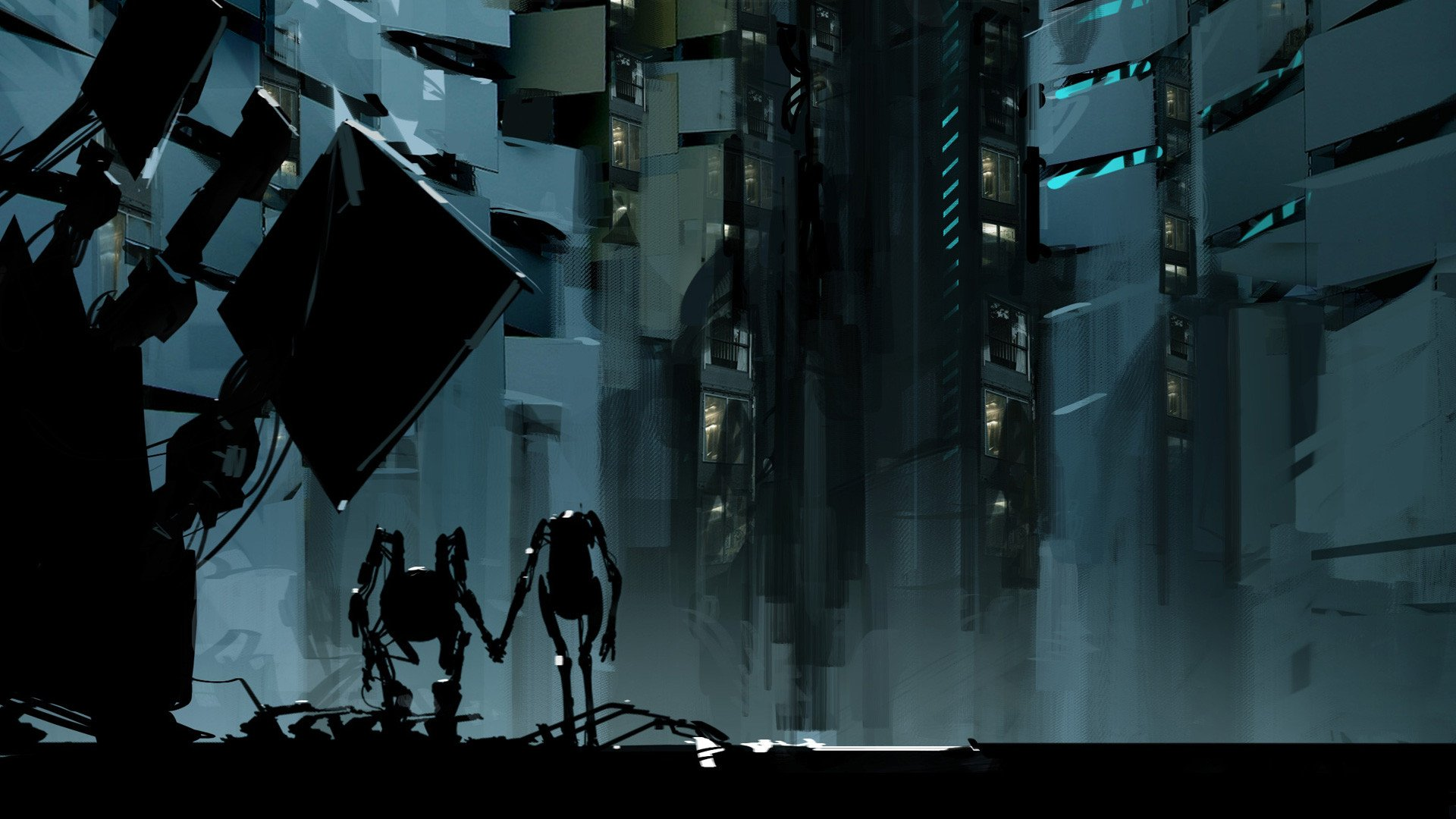 Portal 2 Full HD Wallpaper And Background Image
