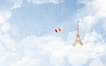 Man Made - Eiffel Tower Wallpapers and Backgrounds ID : 486266