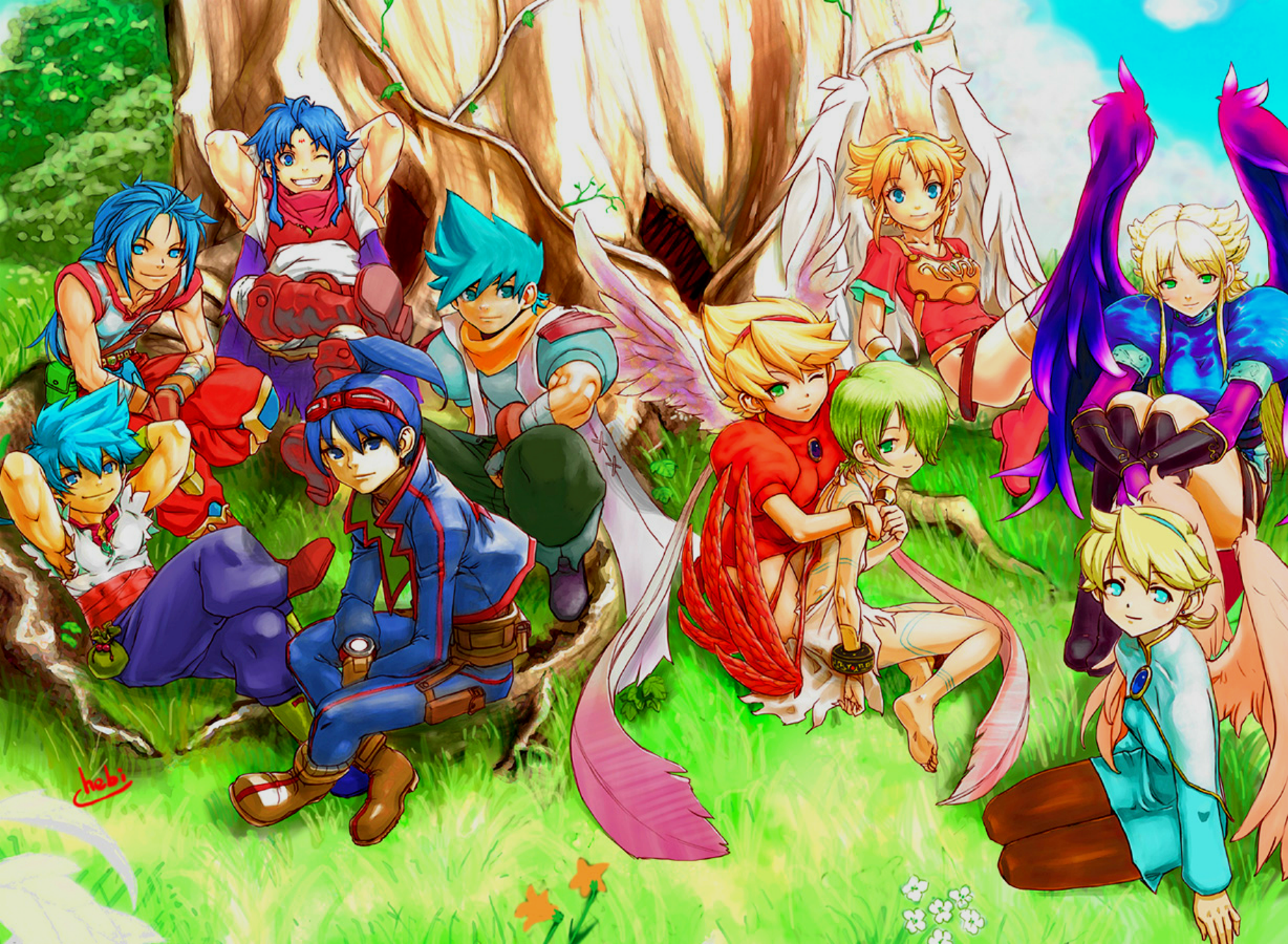 6 Breath Of Fire Hd Wallpapers Background Images Wallpaper Abyss