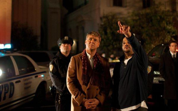 Movie Broken City Russell Crowe Mayor Hostetler Jeffrey Wright Carl Fairbanks HD Wallpaper | Background Image