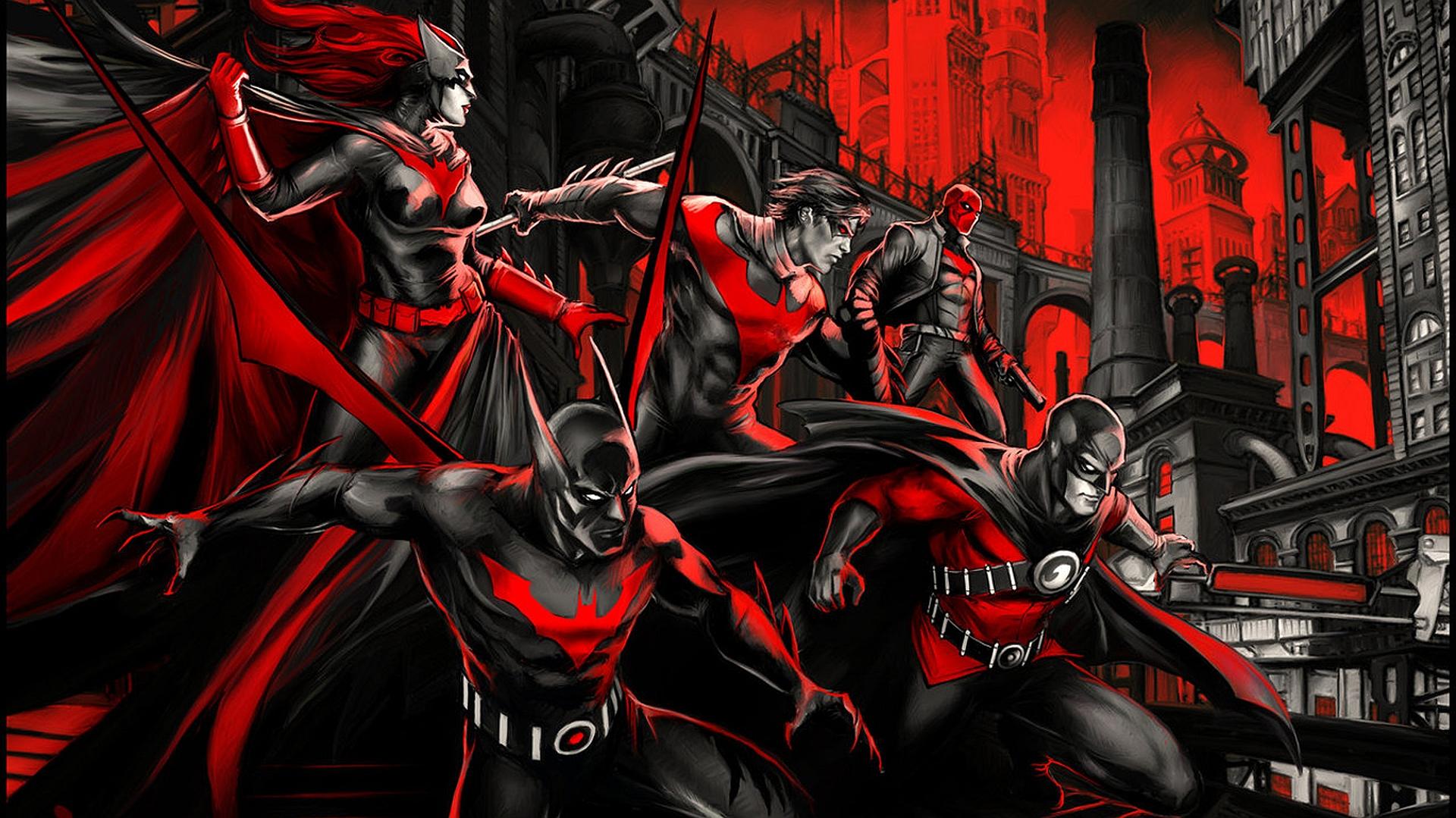 Red Hood Wallpaper 1920x1080: Batman Beyond Wallpaper And Background