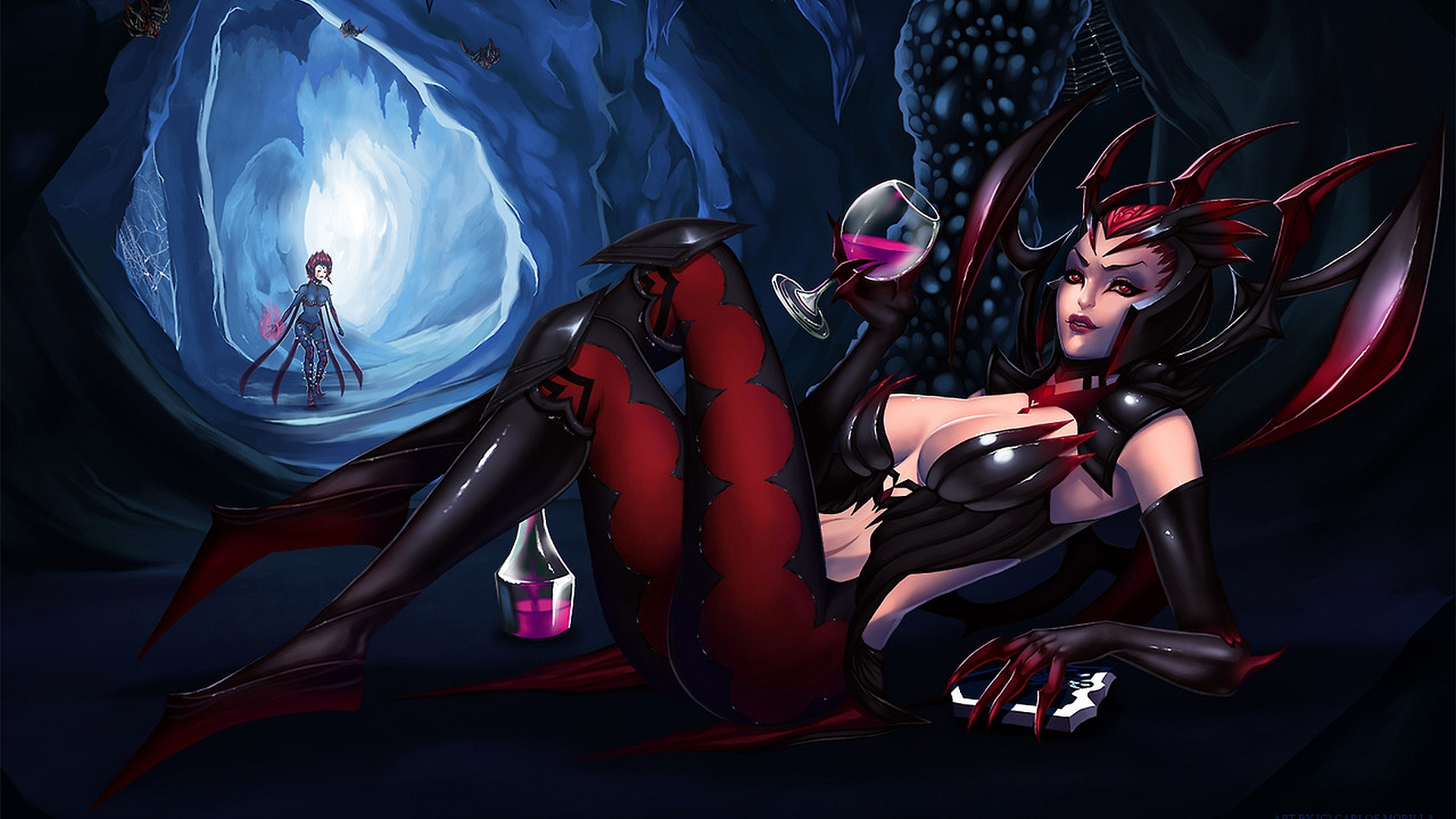 Video Game League Of Legends Evelynn Elise Wallpaper