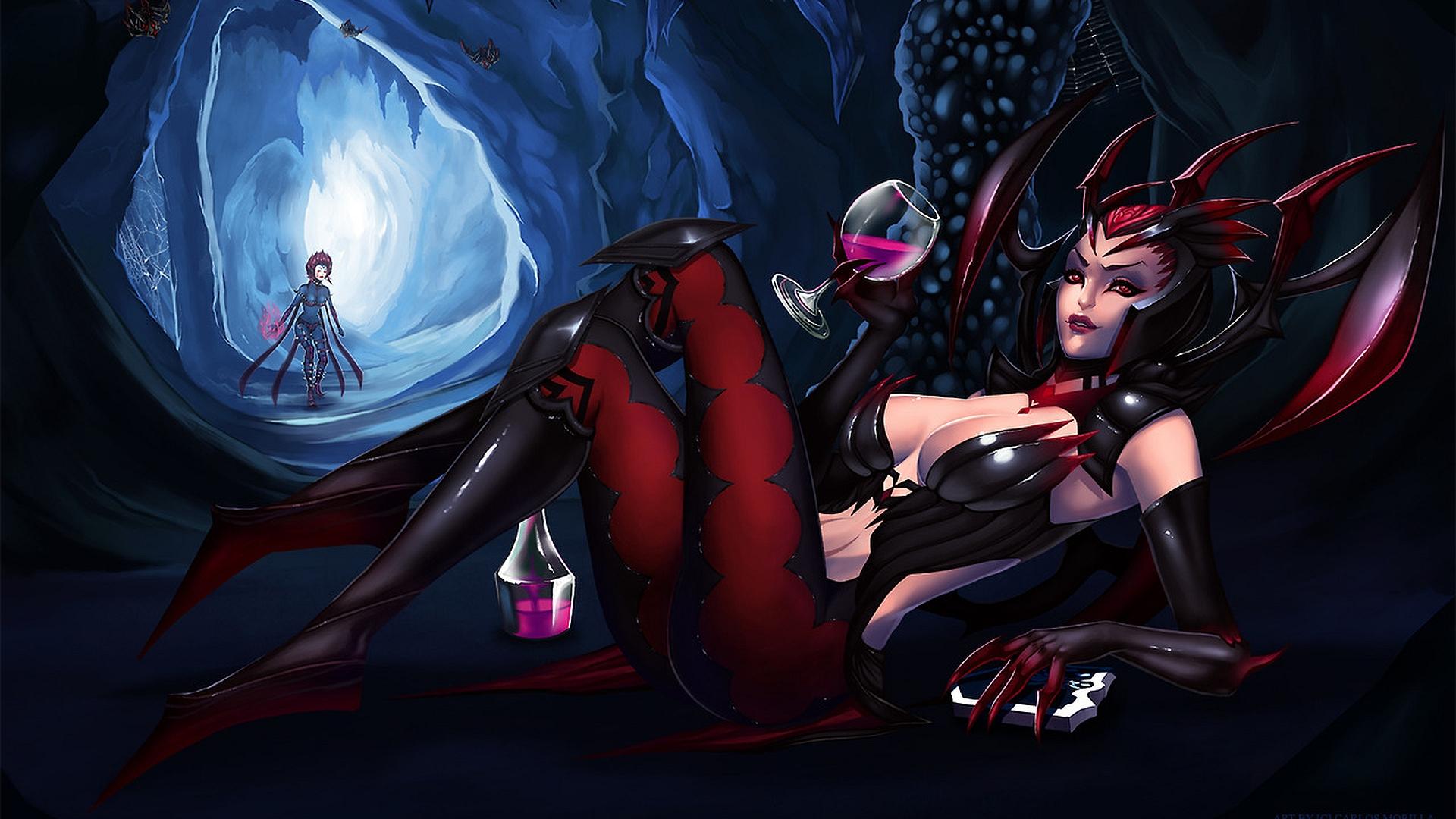 Video Game League Of Legends Evelynn Elise Wallpaper