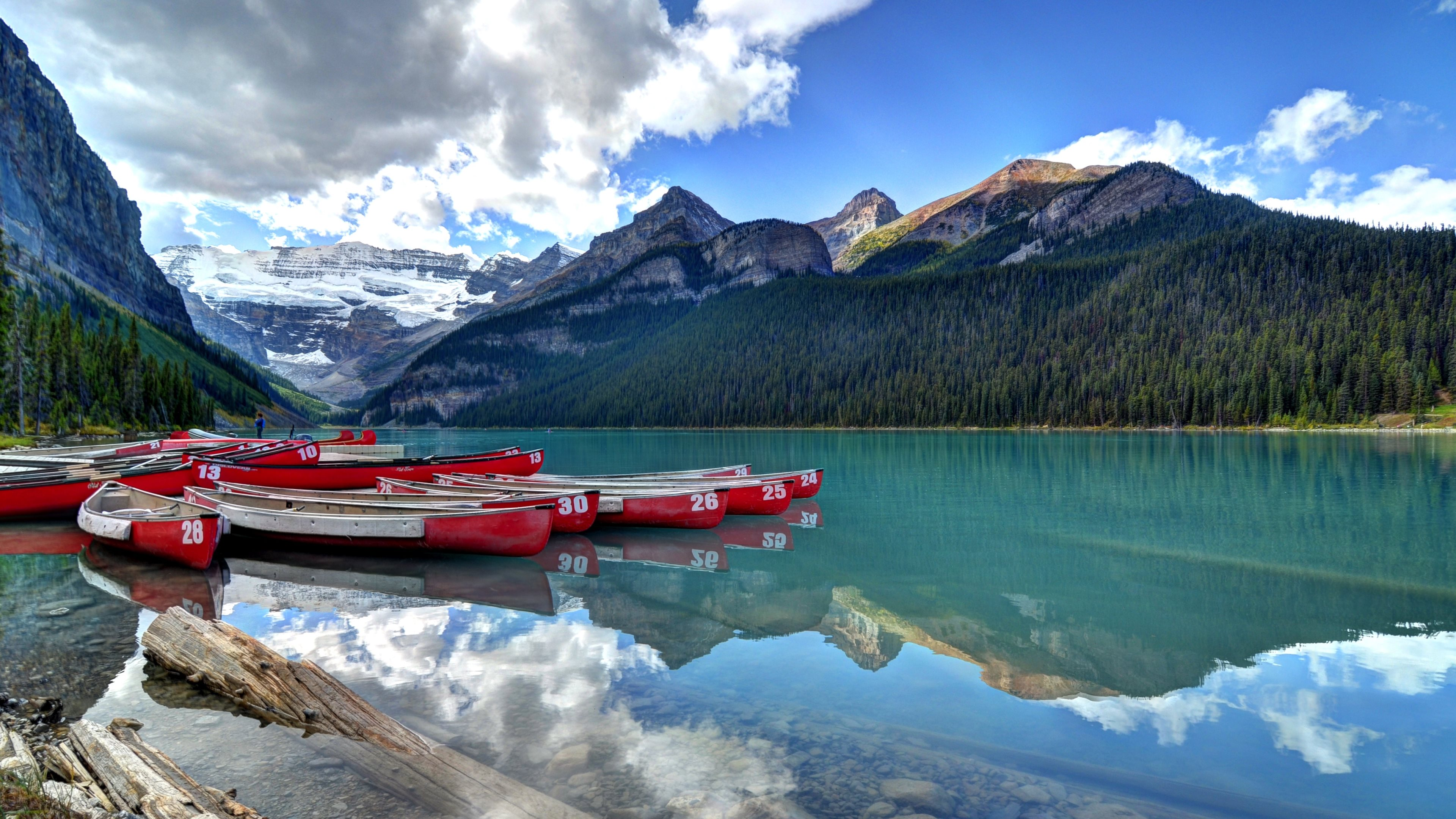 10 lake louise hd wallpapers