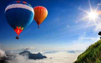 Vehicles - Hot Air Balloon Wallpapers and Backgrounds ID : 490640