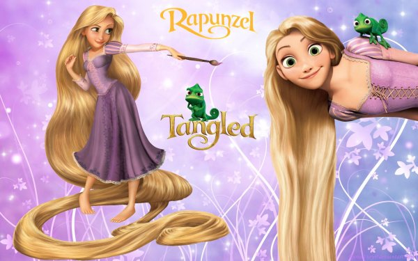 Movie Tangled Rapunzel Pascal HD Wallpaper | Background Image