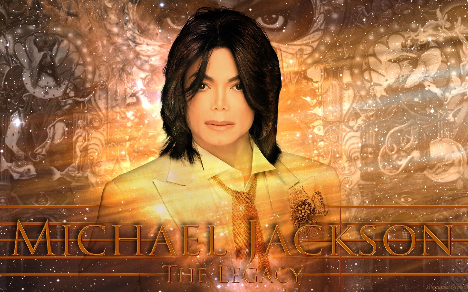 Music - Michael Jackson  King of Pop Singer The King Wallpaper