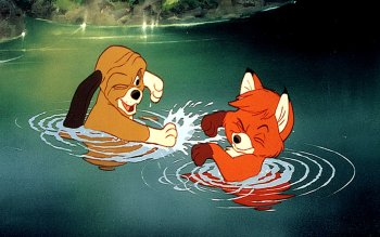 Caricatura - The Fox And The Hound Wallpapers and Backgrounds ID : 491961