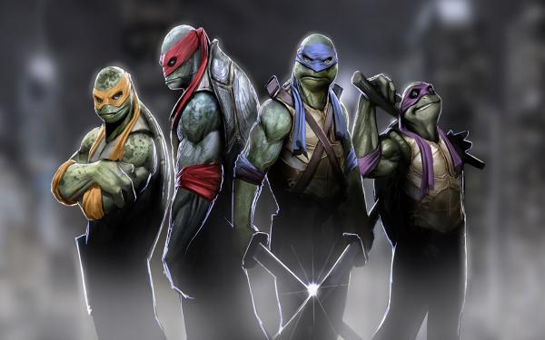 TV Show Teenage Mutant Ninja Turtles Michelangelo Leonardo Donatello Raphael TMNT HD Wallpaper | Background Image