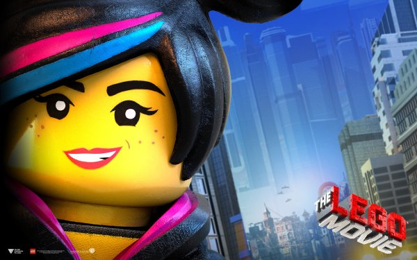 Movie The Lego Movie Lego Wyldstyle Text Logo HD Wallpaper   Background Image