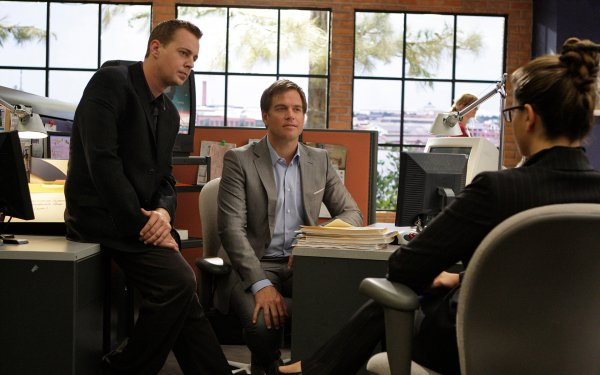 TV Show NCIS Michael Weatherly Anthony Dinozzo Sean Murray Timothy McGee HD Wallpaper | Background Image