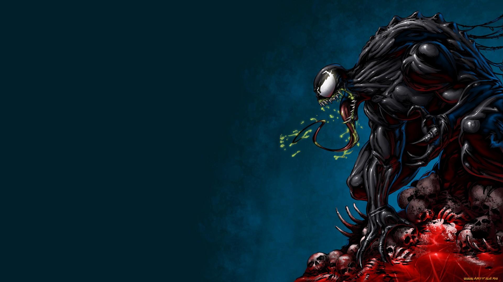 Venom Hd Wallpaper Background Image 1920x1080 Id 492544