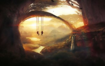 Fantasy - Landscape Wallpapers and Backgrounds ID : 492493