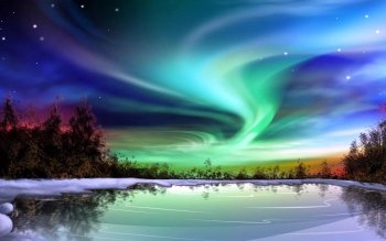 Earth - Aurora Borealis Wallpapers and Backgrounds ID : 493995