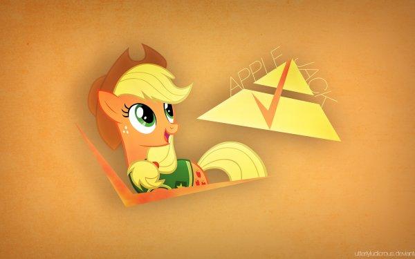 TV Show My Little Pony: Friendship is Magic My Little Pony Applejack Vector HD Wallpaper   Background Image