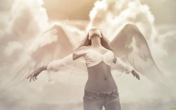 Fantasy - Angel Wallpapers and Backgrounds ID : 494182